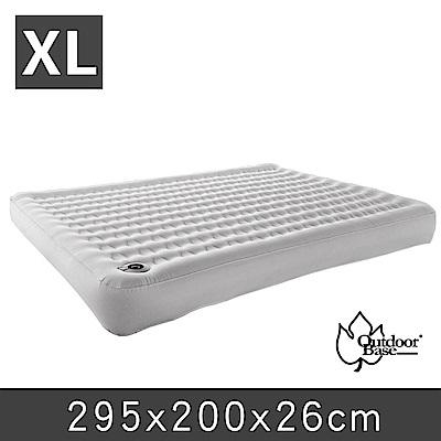 歡慶週年加贈幫浦Outdoorbase頂級歡樂時光充氣床墊XL月石灰