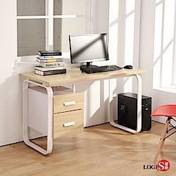 工作桌 書桌 電腦桌LOGIS 時尚HOME LIFE 120*60CM 多用途 租屋族
