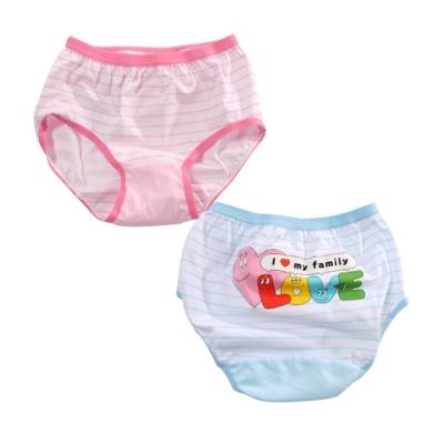 泡泡先生純棉少女內褲(4件一組)  k51257 魔法Baby