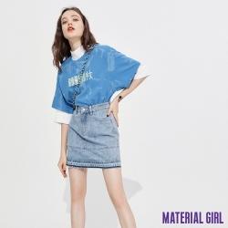 MATERIAL GIRL 健康少女藍色渲染上衣 【92412】