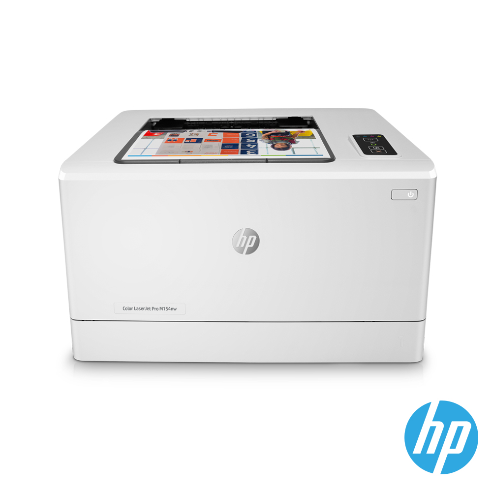 HP Color LaserJet Pro M154nw 無線彩色雷射印表機