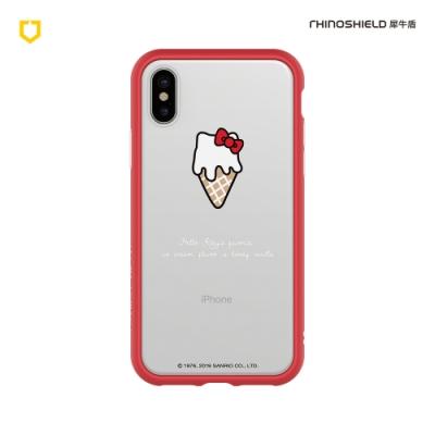 犀牛盾 iPhone Mod NX防摔邊框背蓋手機殼/Hello Kitty-融化你的心