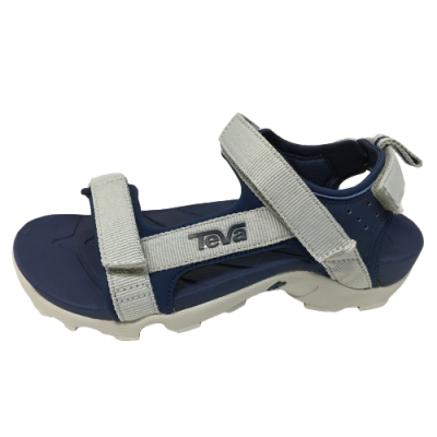 TEVA Tanza 中童 多功能運動涼鞋 藍灰色 TV110474CGRNY