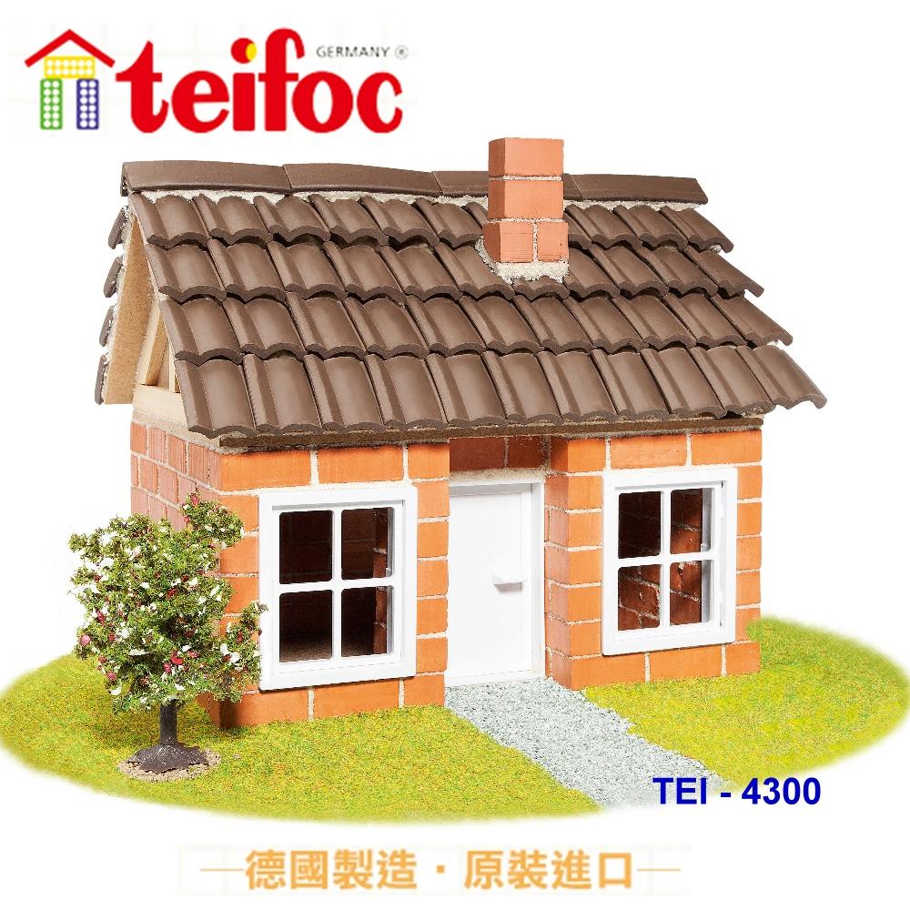 【德國teifoc】DIY益智磚塊建築玩具 - TEI4300