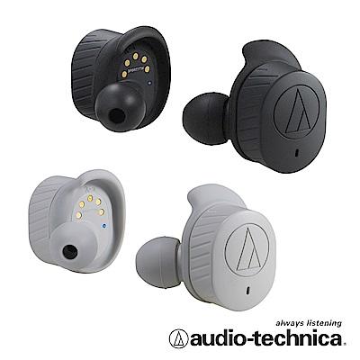 【限量贈送鐵三角運動毛巾】鐵三角ATH-SPORT7TW真無線運動耳機