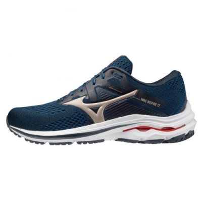 MIZUNO INSPIRE 男 跑步鞋 藍-J1GC214542