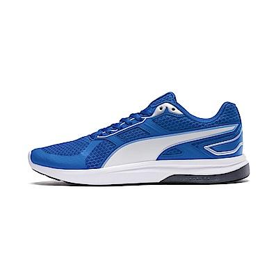 PUMA-EscaperTech男女復古慢跑運動鞋-艷寶藍