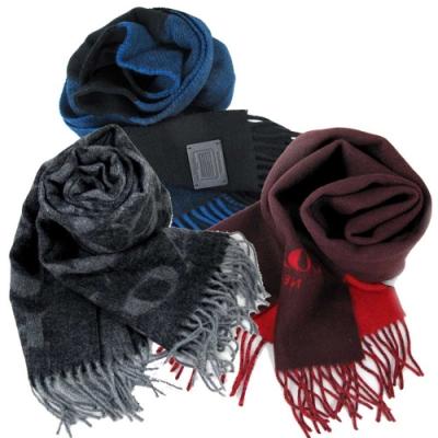 時時樂限定!COACH 品牌Logo男女皆宜保暖羊毛圍巾(多款)