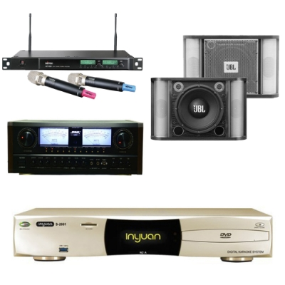 音圓 N2A+SUGAR A-600+RM-10 II+ACT-589(伴唱機4TB+卡拉OK套組)