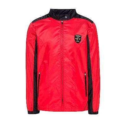 FILA 男款風衣外套-紅色 1JKS-5460-RD