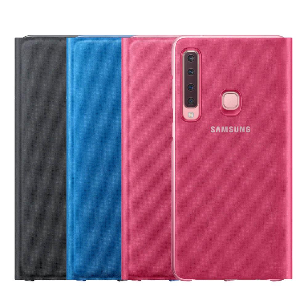 SAMSUNG Galaxy A9 原廠翻頁式皮套(EF-WA920)