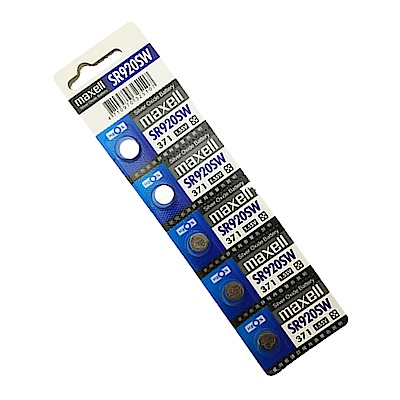 日本品牌水銀電池 maxell SR920SW電池(2卡10入)