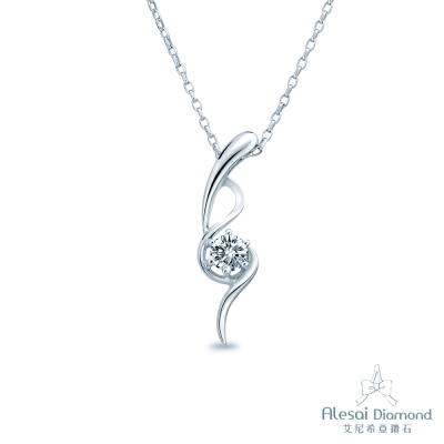 Alesai 艾尼希亞鑽石 30分鑽石 F-G成色 14K項鍊