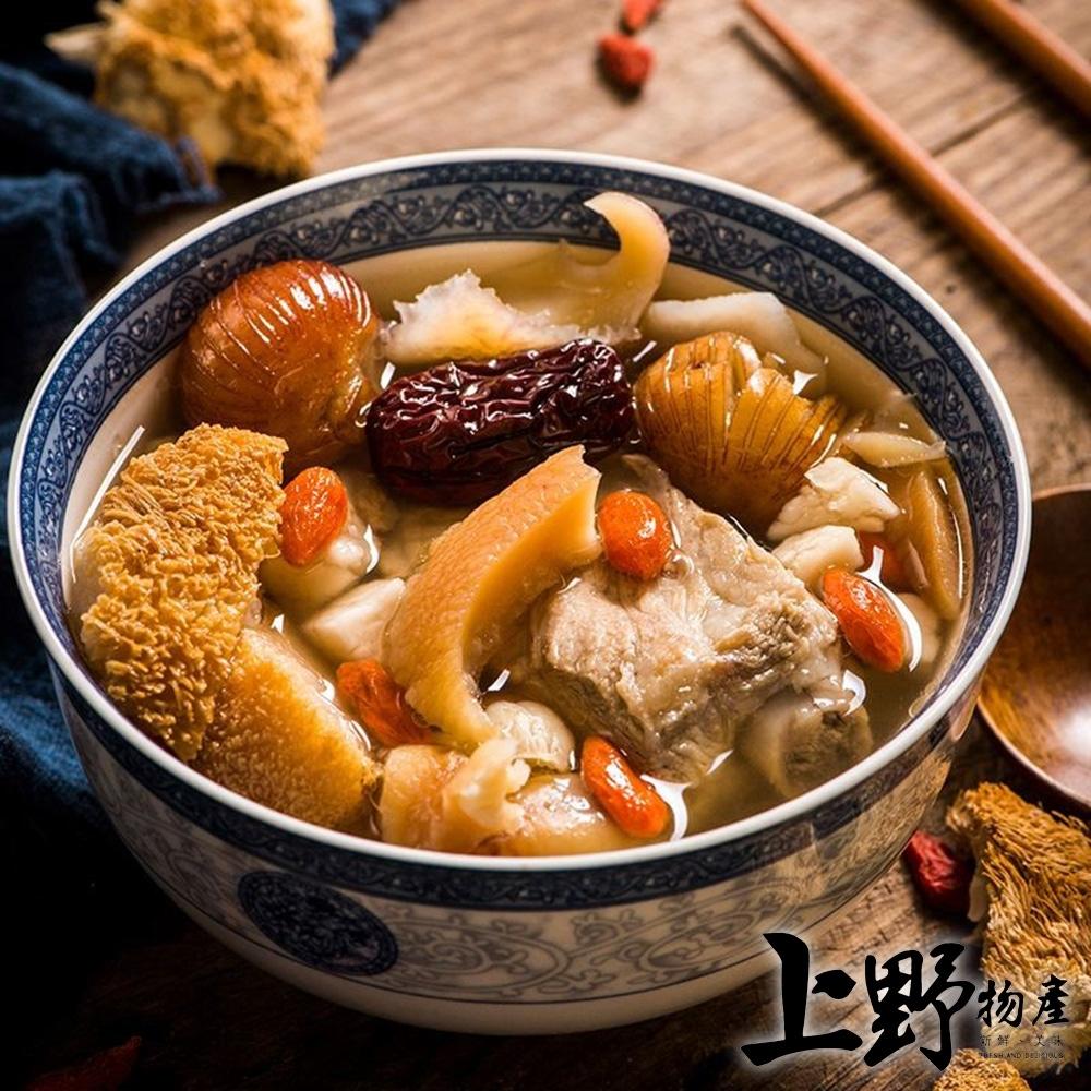 【上野物產】醇香麻油猴頭菇 麻油口味 (300g土10%/包) x7