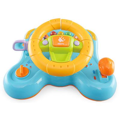 《Steering Wheel》 多變把手造型震動功能音樂燈光方向盤