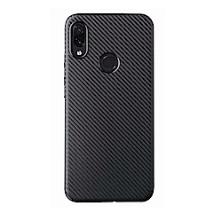 PKG 紅米Note7 防護套殼-軟性類碳纖紋殼-新潮時尚熱銷款
