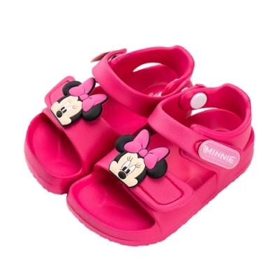 迪士尼童鞋 米妮 防水造型涼鞋- 桃(柏睿鞋業)
