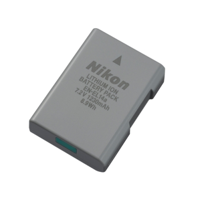 Nikon EN-EL14a 原廠鋰電池 (國祥公司貨)