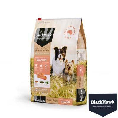 BlackHawk黑鷹 成犬優選無穀鮭肉豌豆7KG  鴯苗油 澳洲食材 狗飼料 無穀飼料