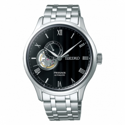 SEIKO Presage質感品味鏤空設計機械錶4R39-00W0D/SSA377J1