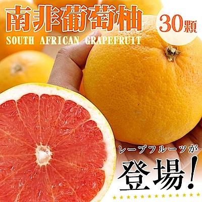 【天天果園】南非紅葡萄柚(每顆270g) x30顆