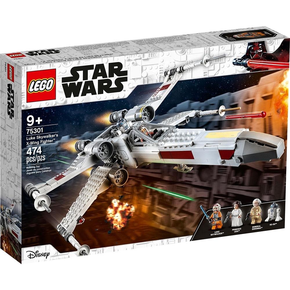 樂高LEGO 星際大戰系列 - LT75301 路克天行者X翼戰機