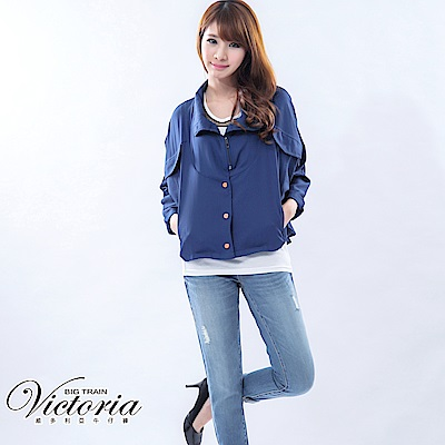 Victoria TENCEL男友褲-女-中藍