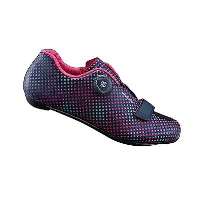 【SHIMANO】RP5 女性公路車性能型車鞋 海軍藍點點