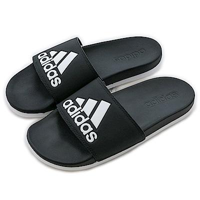 Adidas 愛迪達ADILETTE-運動拖鞋-女