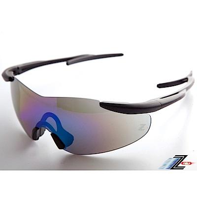 【Z-POLS】超質感消光黑可調頭圍設計頂級運動太陽眼鏡