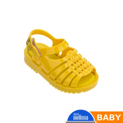 Melissa 經典漁夫鞋(寶寶款)-黃