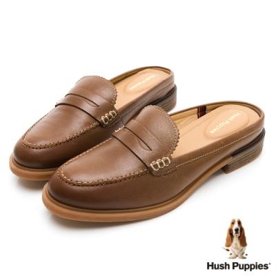 Hush Puppies Bailey 穆勒休閒女鞋-棕色