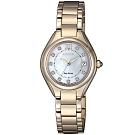 CITIZEN星辰 光動能華麗晶鑽腕錶(EW2543-85D)-26mm