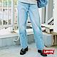 Levis 女款 Ribcage超高腰排釦直筒遮肉褲 七分踝上微破壞 彈性 product thumbnail 1