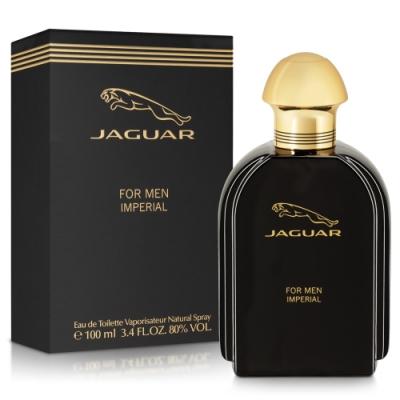 JAGUAR積架 捷豹貴族男性淡香水100ml-送限量Jaguar鑰匙圈