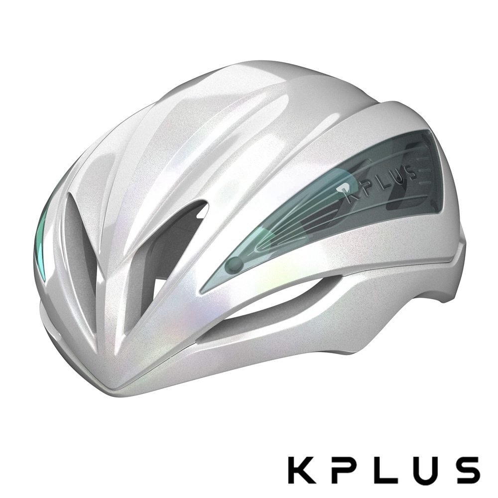 KPLUS 單車安全帽S系列公路競速ULTRA GALAXY Helmet-幻彩白