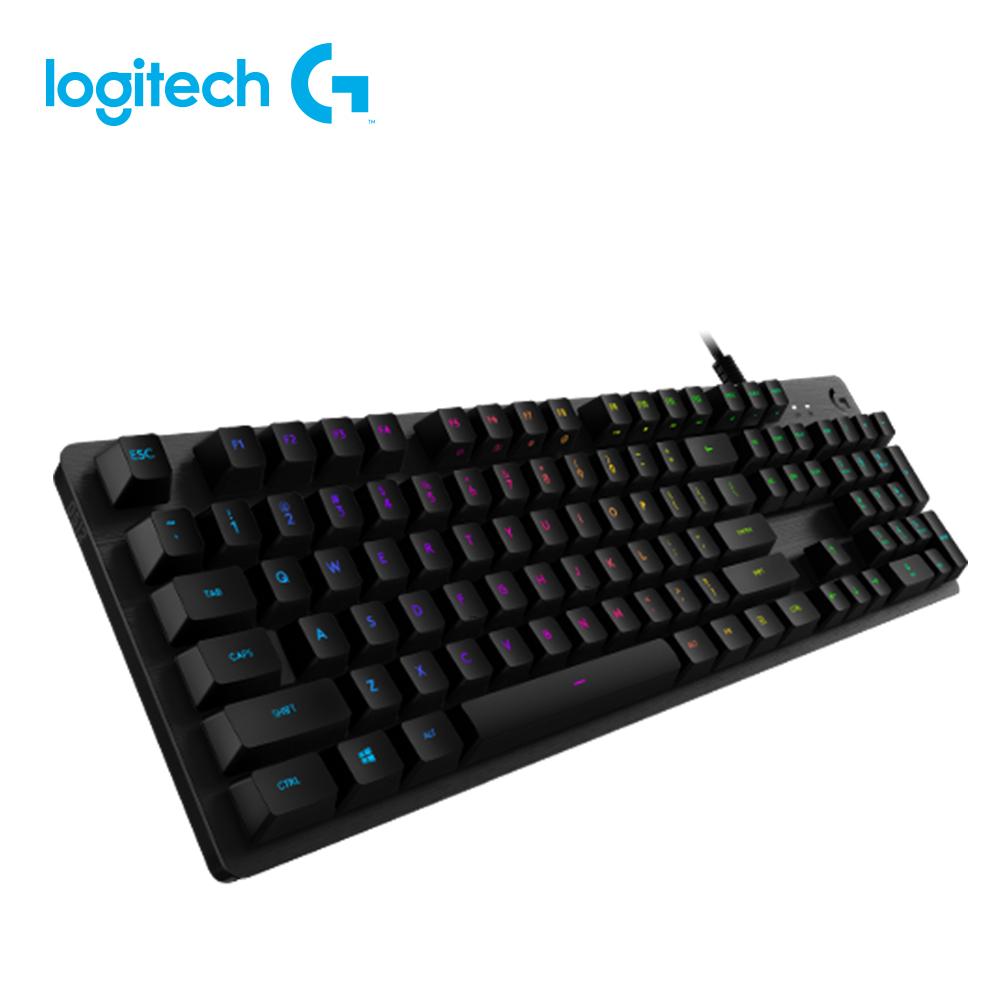羅技 G512 RGB機械式遊戲鍵盤(青軸)