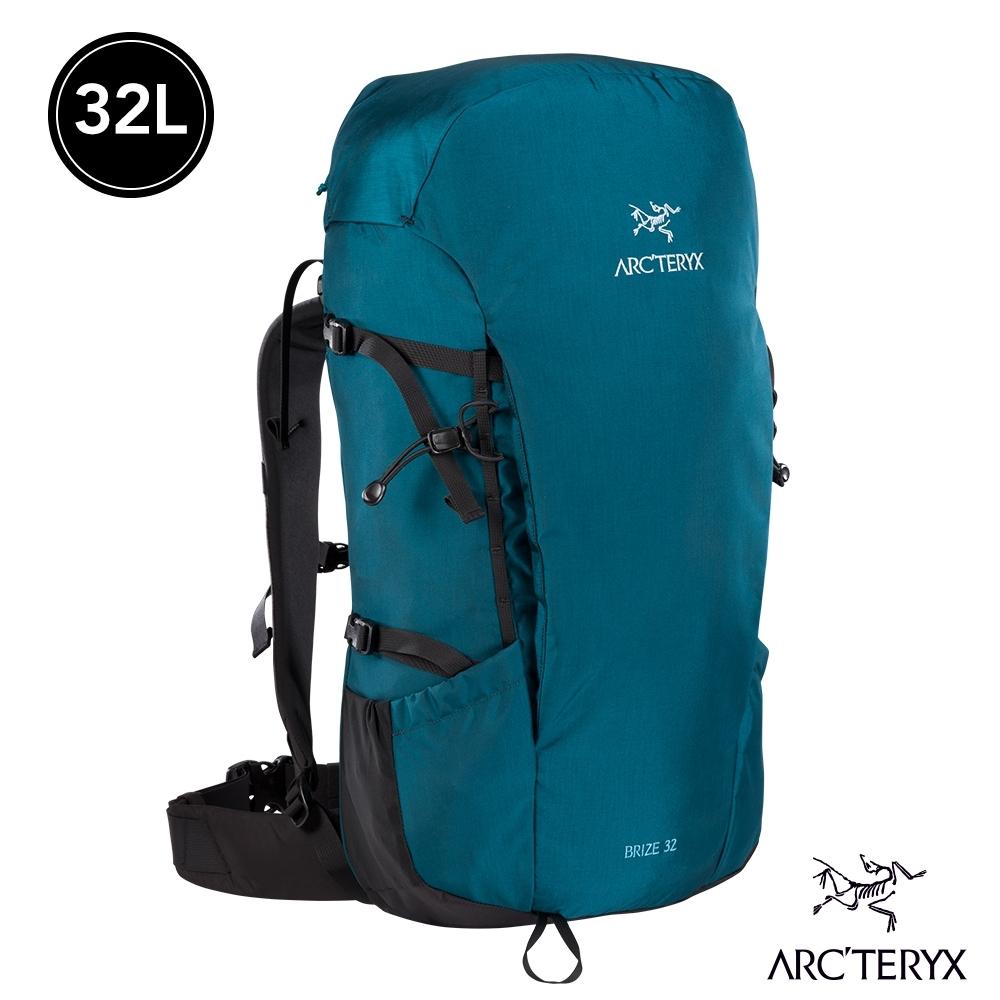 Arcteryx 始祖鳥 Brize 32L 輕量登山背包 神話綠
