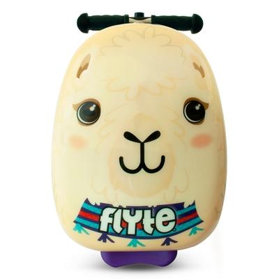 【Zinc Flyte】18吋多功能滑板車行李箱--露卡羊駝