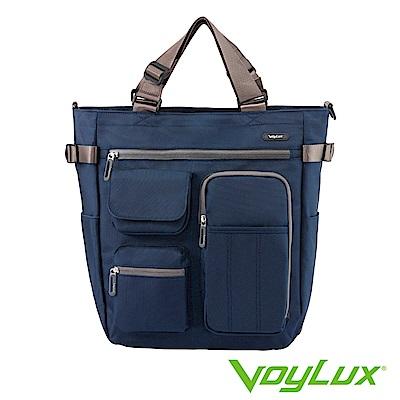 VoyLux 伯勒仕- 城市快捷系列-粗丹尼四用托特包-藍色 3682019
