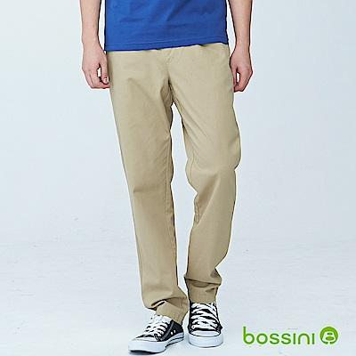 bossini男裝-輕便長褲18卡其