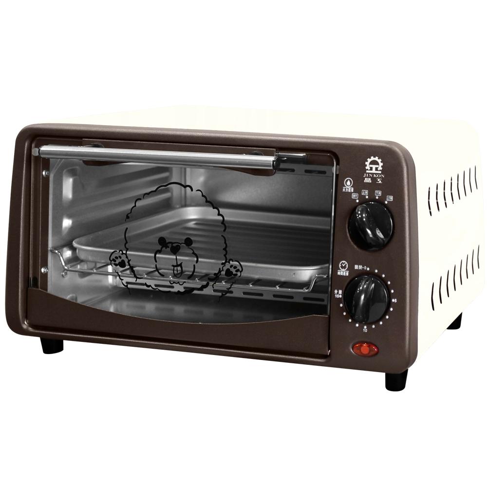 晶工牌 雙旋鈕9L電烤箱 JK-1909