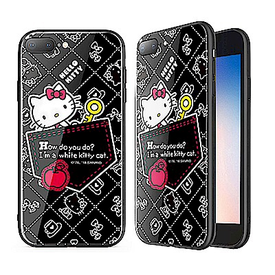 iStyle iPhone 7/8 plus 5.5 Hello Kitty 口袋手機殼 @ Y!購物