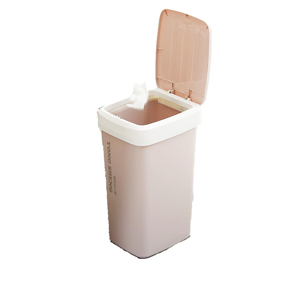 Incare 美觀自動抽換袋垃圾桶-12L大款(2入組/3色可選)