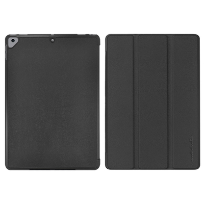 Metal-Slim Apple iPad 10.2吋 (第9代) 2021 高仿小牛皮三折立架式保護皮套