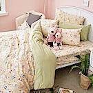 戀家小舖 / 雙人床包枕套組  妮妮公主  100%精梳棉  台灣製