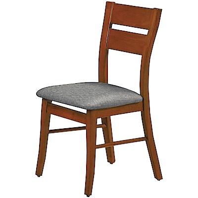 綠活居 瑪森皮革&實木餐椅二入組合(六色+二入)-45x47x88cm免組