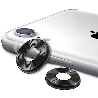 AISURE for iPhone XR 鋁金風鏡頭保護圈 (2入一組)
