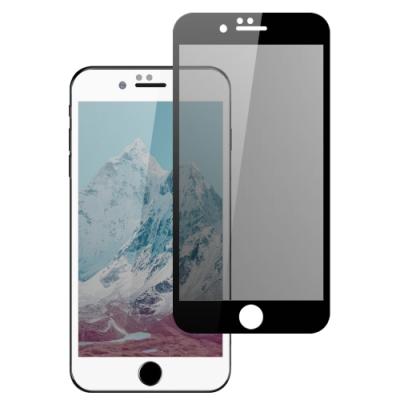 iPhone 6/ 6S 絲印滿版 高清防窺 9H鋼化玻璃膜 手機保護貼