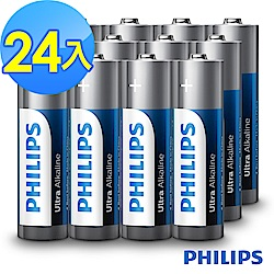 【PHILIPS飛利浦】4號超鹼電池( 24顆 )